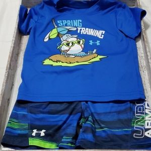 Under Armour Boys Matching Set